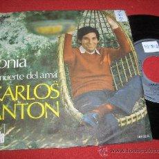 """Discos de vinilo: CARLOS ANTON SONIA / LA MUERTE DEL ALMA 7"""" SINGLE 1971 ARIOLA. Lote 26985385"""