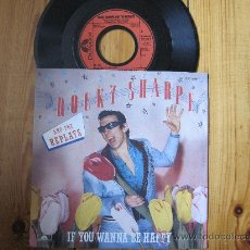 Discos de vinilo: ROCKY SHARPE & THE REPLAYS `IF YOU WANNA BE HAPPY`. Lote 27021198