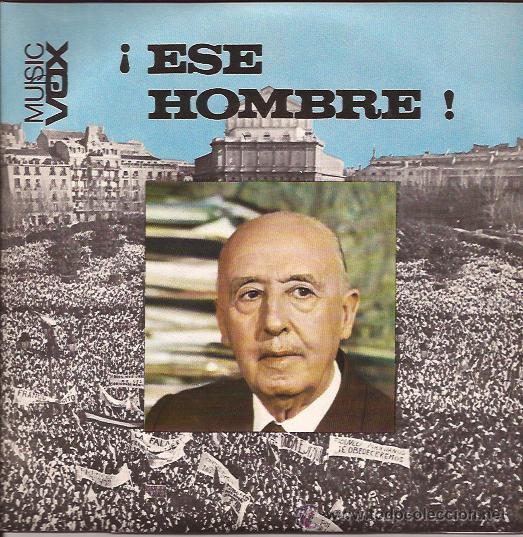 SINGLE-DE RAYMOND-ESE HOMBRE-MUSIC VOX-PORTADA ABIERTA CON LETRAS-FRANCO-COMO NUEVO (Música - Discos - Singles Vinilo - Solistas Españoles de los 50 y 60)