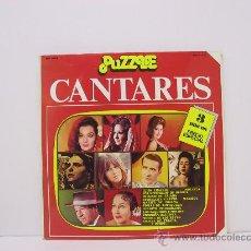 Discos de vinilo: CANTARES-IMPERIO TRIANA/MARISOL/JUANITO VALDERRAMA/MIKAELA...-TRIPLE LP-PORTADA ABIERTA-ZAFIRO 1978. Lote 27051136