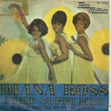 Discos de vinilo: THE SUPREMES SINGLE SELLO TAMLA MOTOWN EDITADO EN ESPAÑA AÑO 1969. Lote 27064034