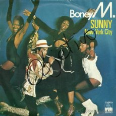 Discos de vinilo: BONEY M SINGLE SELLO ARIOLA EDITADO EN ESPAÑA AÑO 1977. Lote 27064399