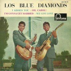 Discos de vinilo: LOS BLUE DIAMONDS EP SELLO FONTANA EDITADO EN ESPAÑA AÑO 1962. Lote 27064614