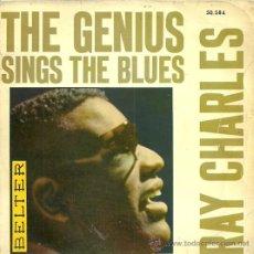 Discos de vinilo: RAY CHARLES EP SELLO BELTER EDITADO EN ESPAÑA AÑO 1962. Lote 27068452