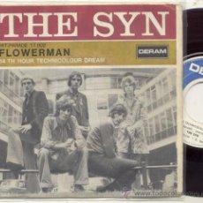 Discos de vinilo: SINGLE 45 RPM / THE SYN / FLOWERMAN // EDITADO POR DERAM . Lote 27096548