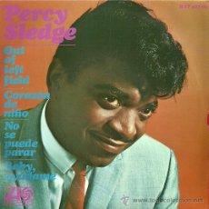 Discos de vinilo: PERCY SLEDGE EP SELLO ATLANTIC AÑO 1967 EDITADO EN ESPAÑA.. Lote 27099244