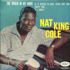 Discos de vinilo: NAT KING COLE EP SELLO CAPITOL EDITADO EN FRANCIA.. Lote 27099382
