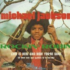 Discos de vinilo: MICHAEL JACKSON SINGLE SELLO TAMLA-MOTOWN AÑO 1972 EDITADO EN ESPAÑA.. Lote 27099533
