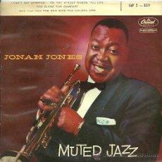 Discos de vinilo: JONAH JONES EP SELLO CAPITOL EDITADO EN FRANCIA . Lote 27099908