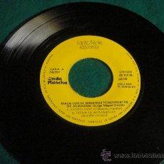 Discos de vinilo: MASA CORAL MINEROS PENSIONISTAS DE ALMADEN DISCO SINGLE (NO TIENE FUNDA). Lote 27100551