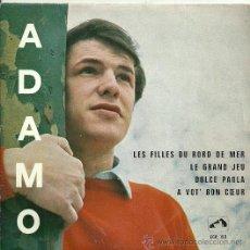 Discos de vinilo: ADAMO EP SELLO LA VOZ DE SU AMO EDITADO EN BELGICA. Lote 27100721