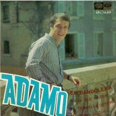 Discos de vinilo: ADAMO CANTA EN ESPAÑOL EP SELLO LA VOZ DE SU AMO EDITADO EN ESPAÑA AÑO1967. Lote 27100795
