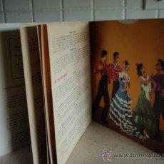 Discos de vinilo: FLAMENCO ¡OLE! ¡OLE! ¡OLE! (FANDANGOS DE ALMERIA - SEGUIRIYA - POR MALAGA Y ANTEQUERA - SEVILLANAS . Lote 27101358