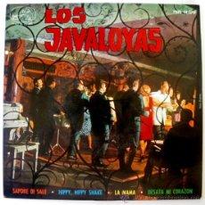 Discos de vinilo: JAVALOYAS EP SPAIN 1964 - BEATLES - HIPPY HIPPY SHAKE - ODEON 14070 - GARAJE - BEAT. Lote 27430626