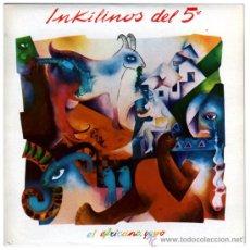 Discos de vinilo: INKILINOS DEL 5º - EL AFRICANO / YUWO – SG SPAIN 1984 – MUSIKRA RECORDS ROCKY 003. Lote 27107047