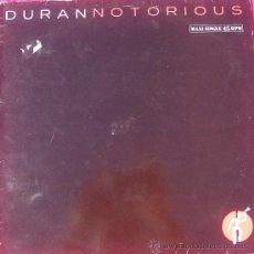Discos de vinilo: DURAN DURAN NOTORIOUS EDIC. ESPAÑOLA. Lote 27126143
