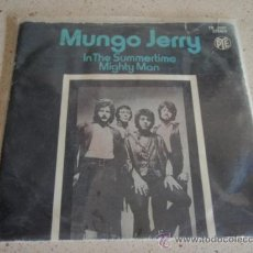 Disques de vinyle: MUNGO JERRY ( IN THE SUMMERTIME - MIGHTY MAN ) ENGLAND-1970 SINGL45 PYE. Lote 27129291