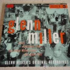 Discos de vinilo: GLENN MILLER PLAYS SELECTIONS FROM THE GLENN MILLER STORY PART 1, GERMANY 1956 EP RCA. Lote 27130106