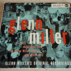Discos de vinilo: GLENN MILLER PLAYS SELECTIONS FROM THE GLENN MILLER STORY AND OTHER HITS PART 3, GERMANY EP RCA. Lote 27130440
