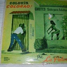 Discos de vinilo: COLORIN COLORADO POR LA PALANCA - ENVIO GRATIS A ESPAÑA. Lote 27141374