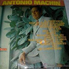 Discos de vinilo: ANTONIO MACHIN - ENVIO GRATIS A ESPAÑA. Lote 27141640