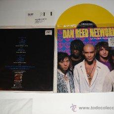 Discos de vinilo: DAN REED NETWORK / LOVER - MONEY (PINK FLOYD) - RITUAL - EP 3 TEMAS ENGLAND 1990 VINILO AMARILLO!!!. Lote 27167370
