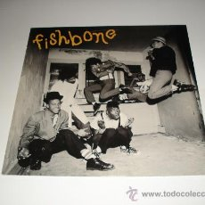 Discos de vinilo: FISHBONE / 1ST ALBUM - S/T - LP MADE IN ENGLAND 1985 - PROMO - !!!. Lote 27168673