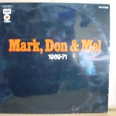 Discos de vinilo: GRAND FUNK RAILROAD --- MARK,DON & MEL -- 1969 - 71. Lote 27187640