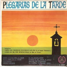 Discos de vinilo: PLEGARIAS DE LA TARDE , DISCO MUY BIEN CONSERVADO. Lote 27195991