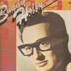 Discos de vinilo: LP BUDDY HOLLY - RAVE ON . Lote 27199811