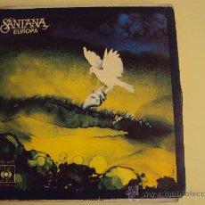 Discos de vinilo: DISCO VINILO SINGLE EUROPA - SANTANA -. Lote 111635182