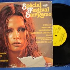 Discos de vinilo: - SPECIAL FESTIVAL SANREMO - HITS ITALIENS - MADE IN FRANCE. Lote 27222269