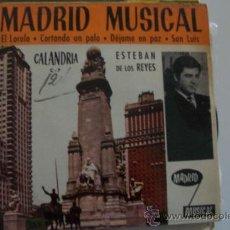 Discos de vinilo: ESTEBAN DE LOS REYES Y ORQ.SEGALI EP CALANDRIA SURF-BEAT. Lote 27239476