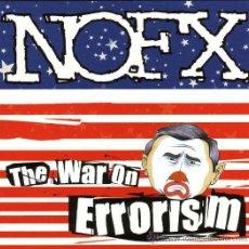 Discos de vinilo: LP NOFX THE WAR ON ERRORISM VINILO. Lote 129411567