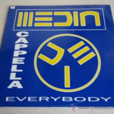 Discos de vinilo: CAPPELLA ( EVERYBODY ) TECHNOHOUSEMIX + CYBERTECHNOMIX + LOGIC MIX + HIPNOTIC CYBER 1991 MAXI33. Lote 27242337