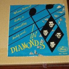 Discos de vinilo: DIAMONDS EP WHERE MARY GO+3 RARISIMO. Lote 27280175