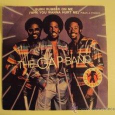Discos de vinilo: DISCO VINILO SINGLE PISAR A FONDO - THE GAP BAND -. Lote 27283267