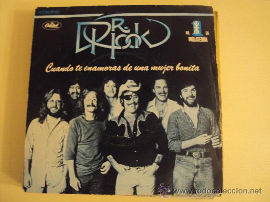 DISCO VINILO SINGLE CUANDO TE ENAMORAS DE UNA MUJER BONITA - DR.HOOK - (Música - Discos - Singles Vinilo - Country y Folk)