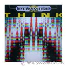Discos de vinilo: PROMISE THINK MAXI SINGLE MAX MUSIC SPAIN 1996 EURO HOUSE NM1513MX. Lote 27294397