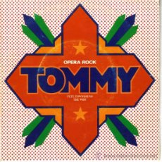 Discos de vinilo: TOMMY SINGLE DEL MUSICAL CLUB DE VANGUARDIA. Lote 34988512