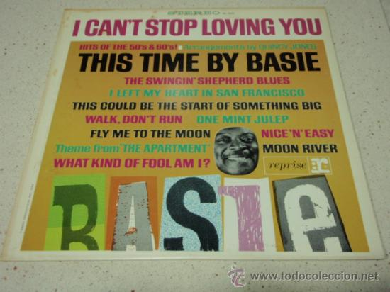 COUNT BASIE 'THIS TIME BY BASIE! HITS OF THE 50'S AND 60'S' USA 1960 LP33 REPRISE RECORDS (Música - Discos - LP Vinilo - Jazz, Jazz-Rock, Blues y R&B)