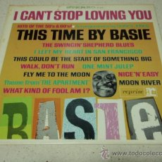 Discos de vinilo: COUNT BASIE 'THIS TIME BY BASIE! HITS OF THE 50'S AND 60'S' USA 1960 LP33 REPRISE RECORDS. Lote 27320101