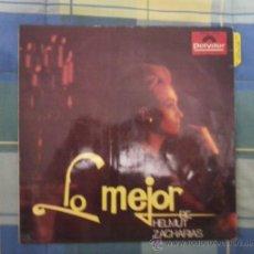 Discos de vinilo: LP - DISCO DE VINILO. LO MEJOR DE HELMUT ZACHARIAS. SOLO ESTA LA CARATULA.. Lote 27334860