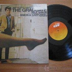 Discos de vinilo: EL GRADUADO `THE GRADUATE` SIMON & GARFUNKEL BSO. Lote 27354199