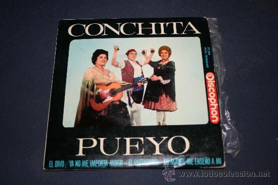 CONCHITA PUEYO. ARAGON, 1964 (Música - Discos - Singles Vinilo - Flamenco, Canción española y Cuplé)