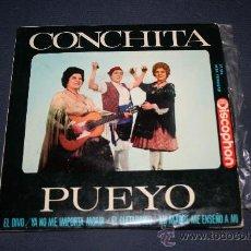 Discos de vinilo: CONCHITA PUEYO. ARAGON, 1964. Lote 27364838