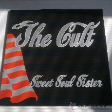 Discos de vinilo: THE CULT-SWEET SOUL SISTER,THE RIVER,AMERICAN HORSE(LIVE)-1989-MADE IN ENGLAND- MAXI SINGLE 45 RPM-. Lote 27403785