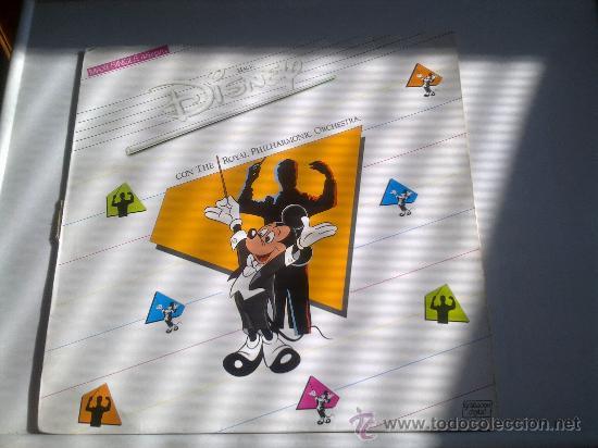 MAGIC DISNEY CON THE ROYAL PHILHARMONIC ORCHESTRA-1986-POLYGRAM-MAXI SINGLE 45 RPM- (Música - Discos de Vinilo - Maxi Singles - Música Infantil)