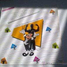 Discos de vinilo: MAGIC DISNEY CON THE ROYAL PHILHARMONIC ORCHESTRA-1986-POLYGRAM-MAXI SINGLE 45 RPM- . Lote 27405232