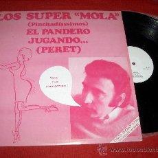 """Discos de vinilo: PERET EL PANDERO / JUGANDO... 12"""" MX 1976 ARIOLA PROMO LOS SUPER MOLA RUMBA CATALANA RARO. Lote 27382927"""